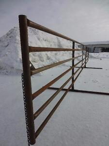 FREESTANDING/WINDBREAK CORRAL PANELS FOR CATTLE/LIVESTOCK Peterborough Peterborough Area image 6