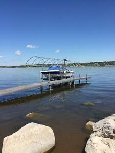Boat lift canopy for sale. Just the frame and canopy.