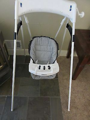 Baby Swing Graco Wind Up Removable Seat Cover 2 Position