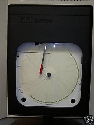 ITT Barton Chart Recorder Differential Pressure  (Pressure Chart Recorder)