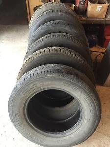 6 Tires (205/70/15) in Great Shape for $150!