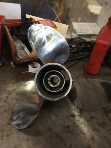 Stanless steel 19 p prop