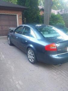 2004 Audi A6 2.7T S-Line trade for truck