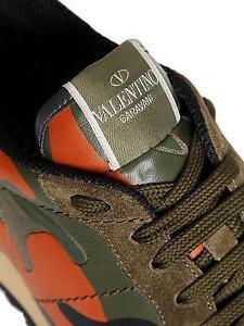 Valentino Garavani Camouflage Sneaker, Size 10