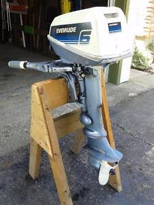 Trade 6 hp Evinrude for 9.9 hp boat motor