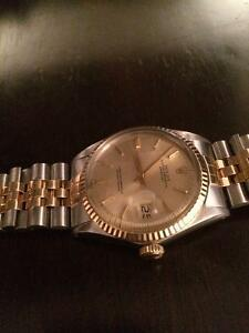 Vintage Rolex Datejust two tone 16013 very good condition