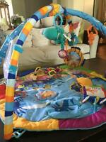 Baby Einstein Tummy Time Gym Mat