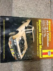HAYNES MANUAL FOR A NISSAN/DATSUN PICKUP/PATHFINDER 87-95
