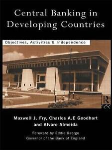 Central Banking in Developing Countries: Objectives-ExLibrary