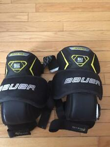 Goalie Knee Pads Bauer Supreme Max Sor3 JR