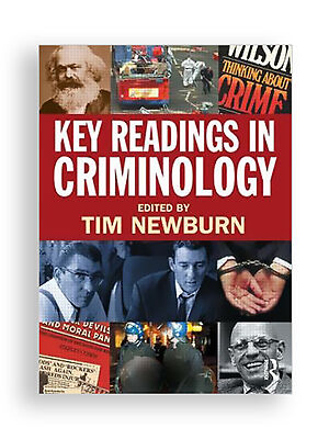 criminology tim newburn Tim newburn abstract criminology: a very short introduction considers how to measure crime, how crime trends can be studied, and how those trends can be used to inform preventative policy and criminal justice.