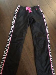 Justice track pants