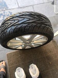 Tyre size 215/45ZR17