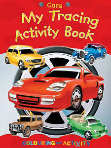 """VERY GOOD"" Cars: My Tracing Activity Book, , Book"