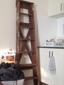 Wood ladder genuine Artisans very unique Campsie Canterbury Area Preview
