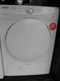 99 Hoover VTC590B 9kg White Sensor Drying Condenser Tumble Dryer 1 YEAR GUARANTEE FREE DELIVERY
