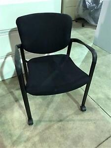 Haworth Improv Guest Chairs on Casters - $49