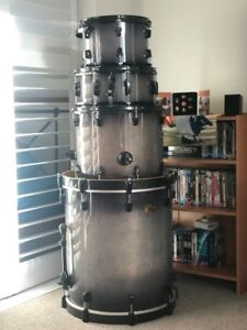 100th Anniversary Ludwig Element Drum Kit / cymbals & hardware Lutwyche Brisbane North East Preview