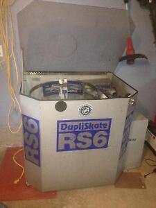 Machine d'aiguisage (système d'affûtage) automatique RS6, ÉCHANGE ACCEPTER