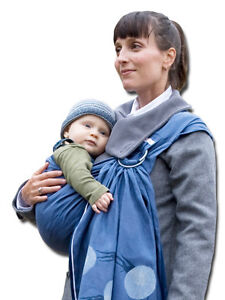 *brand name ollie golightly* baby carrier sling