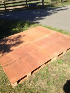 Plywood- pallets, cheap, floors, walls,sheds,dividers,etc