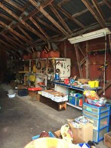 Garage Sale - Cleaning out the Sheds/Site - one last day