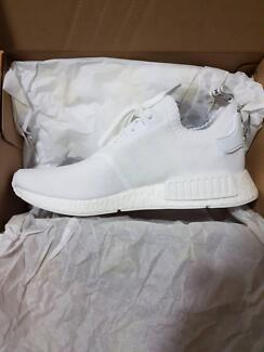 Adidas NMD R1 Primeknit Japan White US11