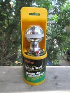 """Bully 2"""" Chrome Plated Steel Shank Trailer Hitch Ball w. LED London Ontario image 1"""