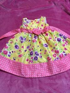 Pink and Yellow Marc and Maddie Dress