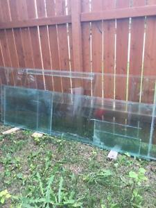 Glass for 360 gallon aquarium