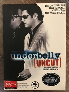 Underbelly Uncut DVD Box Set Springfield Ipswich City Preview