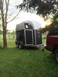 Bockmann Duo horse trailer
