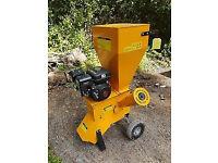 Wood chipper / leaf mulcher, garden tree machinery