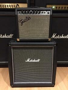 Marshall Haze 1x12 Cab and Fender Bullet Reverb Head