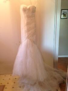 Wedding Dress with Shoes-New Price Kingston Kingston Area image 1