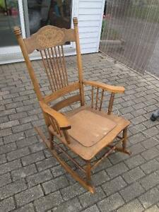 Vintage Rocking Chair Cambridge Kitchener Area image 1