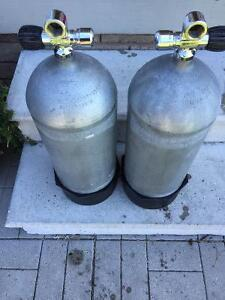 STEEL SCUBA TANKS - 2