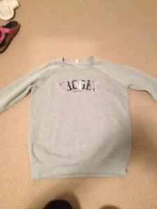 Small crooks and castles grey with purple sweater London Ontario image 1