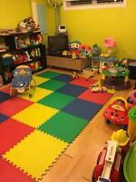 Garderie familiale places disponible