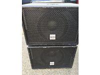 Alto Truesonic SUB 12's subwoofer speakers