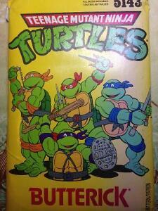 Teenage Mutant Ninja Turtles HALLOWEEN COSTUME SEWING PATTERN!!