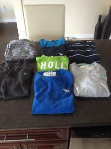 Hollister and Abercrombie & Fitch clothing
