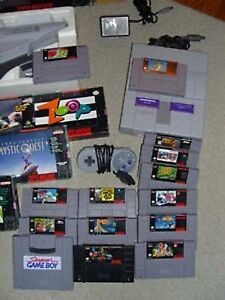 SNES Collection - Gettin Rid of IT!