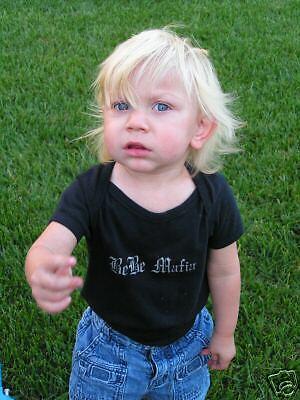 BABY 1z one Z BEBE STREETMAFIABMX BLACK ONE-z FIT the baby Size 12-18mo