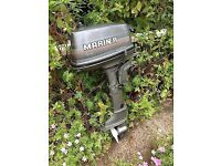 Wanted small outboard boat engine running or not