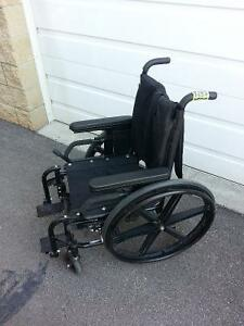 """WC034  15"""" QUICKIE folding wheelchair for only $150"""