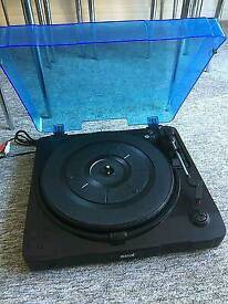 Seal USB turntable with dust cover