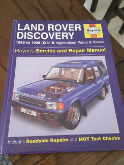Haynes Landrover Discovery Manual