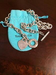 Tiffany co toggle necklace