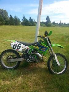 2002 kx250 2 stroke would like to trade for 4X4 fourwheeler